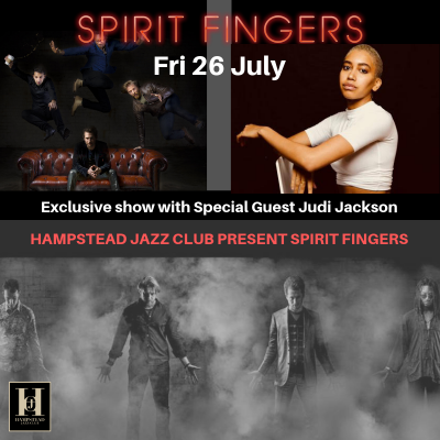 SPIRIT FINGERS with special guest Judi Jackson