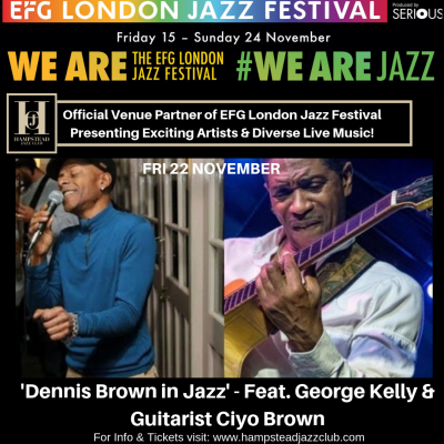 'Dennis Brown in Jazz' - Feat. George Kelly & Guitarist Ciyo Brown