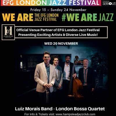 Luiz Morais Band - London Bossa Quartet