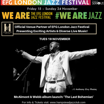 McAlmont & Webb album launch: 'The Last Bohemian'