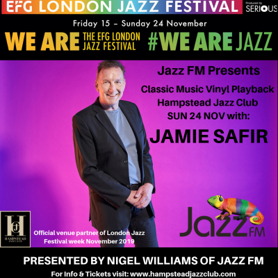 Jazz FM Presents: Classic Vinyl Playback with Jamie Safir