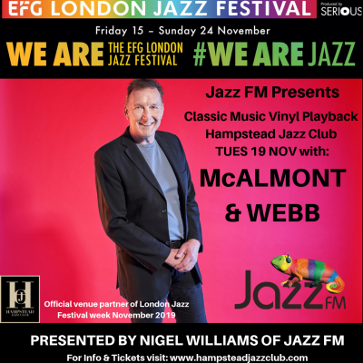 Jazz FM Presents: Classic Vinyl Playback with Mcalmont & Webb