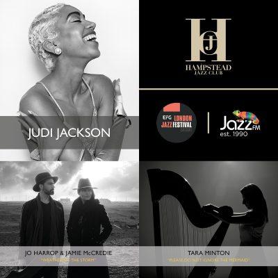 HJC Live at Cadogan Hall with Judi Jackson, Jo Harrop & Jamie McCredie and Tara Minton