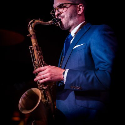 Leo Richardson - Leading Jazz Tenor Saxophonist Quartet