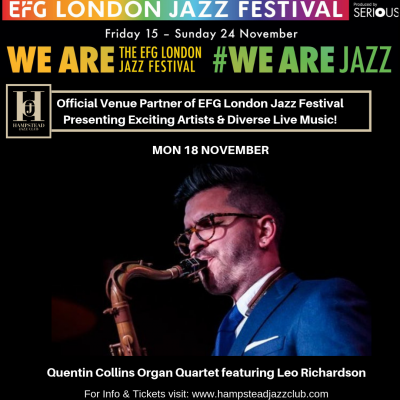 Leo Richardson and James Copus Quartet
