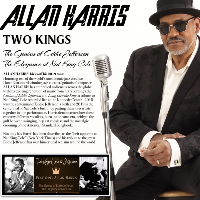 Allan Harris - Two Kings Tour (Saturday Aug 10)